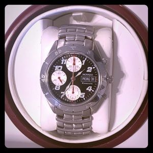 Movado Watch - Movado Kingmatic Valjoux 7750